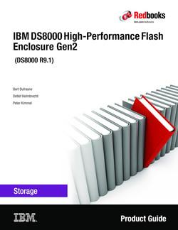 IBM DS8000 High-Performance Flash Enclosure Gen2 (DS8000 R9.0)