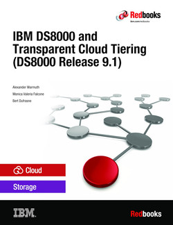 IBM DS8000 and Transparent Cloud Tiering (DS8000 Release 9.1)