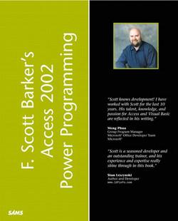 F. Scott Barker's Microsoft Access 2002 Power Programming