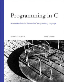 Programming in C, Third Edition