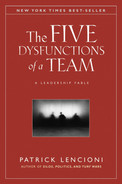 Cover of The Five Dysfunctions of a Team: A Leadership Fable