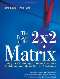 The Power of the 2 × 2 Matrix: Using 2 × 2 Thinking to Solve Business Problems and Make Better Decisions