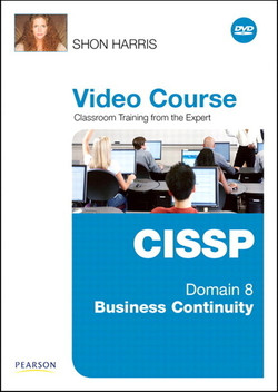 CISSP Video Course Domain 8 – Business Continuity