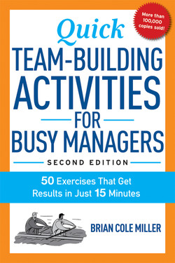 Quick Team-Building Activities for Busy Managers, 2nd Edition
