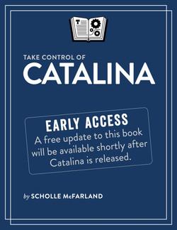 Take Control of Catalina