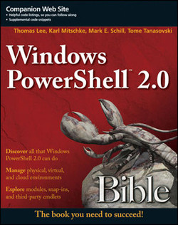 Windows PowerShell® 2.0 Bible