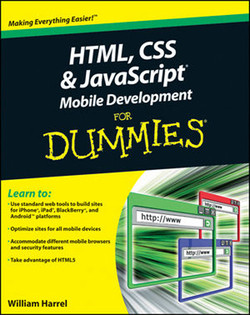 HTML, CSS, and JavaScript® Mobile Development For Dummies®