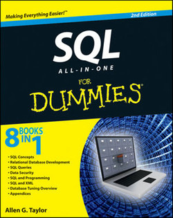 SQL All-in-One For Dummies®, 2nd Edition