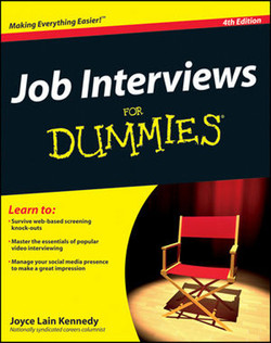 Job Interviews For Dummies®, 4th Edition