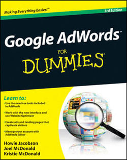 Google AdWords™ For Dummies®, 3rd Edition