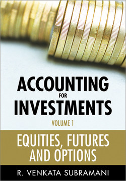 Accounting for Investments, Equities, Futures and Options, Volume 1