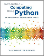 Cover of Introduction to Computing Using Python: An Application Development Focus