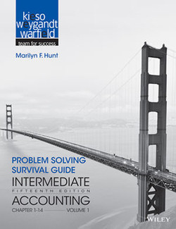 Problem Solving Survival Guide to accompany Intermediate Accounting, Volume 1: Chapters 1 - 14, 15th Edition
