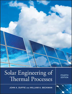Solar Engineering of Thermal Processes, 4th Edition