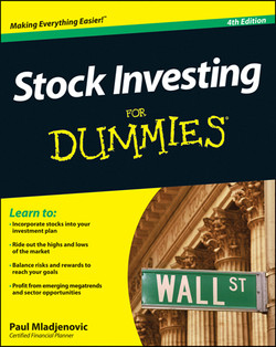 Stock Investing For Dummies, 4th Edition