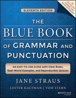 The Blue Book of Grammar and Punctuation: An Easy-to-Use Guide with Clear Rules, Real-World Examples, and Reproducible Quizzes, 11th Edition
