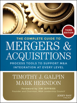 The Complete Guide to Mergers and Acquisitions: Process Tools to Support M Integration at Every Level, 3rd Edition