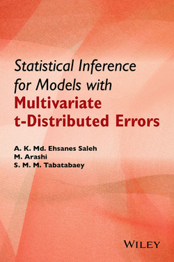 Statistical Inference for Models with Multivariate t-Distributed Errors