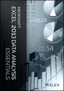 Microsoft Excel 2013 Data Analysis Essentials
