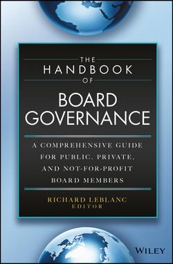 The Handbook of Board Governance