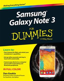 Samsung Galaxy Note 3 For Dummies