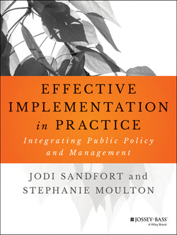 Effective Implementation In Practice: Integrating Public Policy and Management