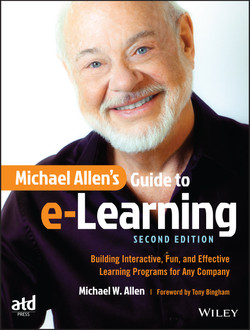 Michael Allen's Guide to e-Learning, 2nd Edition