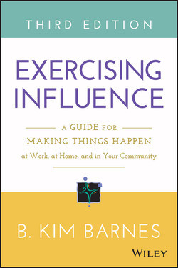 Exercising Influence: A Guide for Making Things Happen at Work, at Home, and in Your Community, 3rd Edition