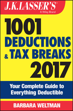 J.K. Lasser's 1001 Deductions and Tax Breaks 2017