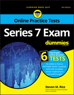Series 7 Exam For Dummies, 4th Edition