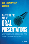 book cover: Mastering the Art of Oral Presentations