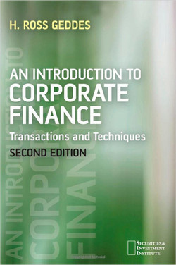 An Introduction to Corporate Finance: Transactions and Techniques, Second Edition