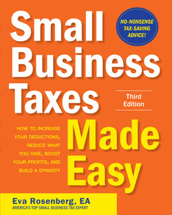 Small Business Taxes Made Easy, Third Edition, 3rd Edition