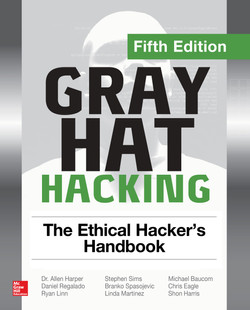 Gray Hat Hacking The Ethical Hacker's Handbook, Fifth Edition, 5th Edition