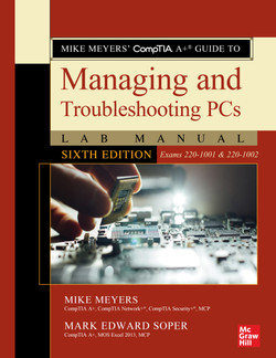 Mike Meyers' CompTIA A+ Guide to Managing and Troubleshooting PCs Lab Manual, Sixth Edition (Exams 220-1001 & 220-1002), 6th Edition