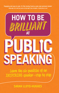 book cover: How to Be Brilliant at Public Speaking