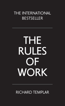 The Rules of Work, 4th Edition