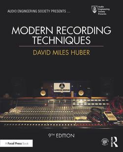Modern Recording Techniques, 9th Edition