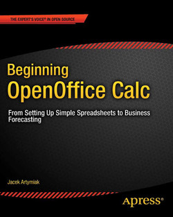 Beginning OpenOffice Calc: From Setting Up Simple Spreadsheets to Business Forecasting