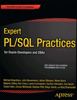 Expert PL/SQL Practices for Oracle Developers and DBAs
