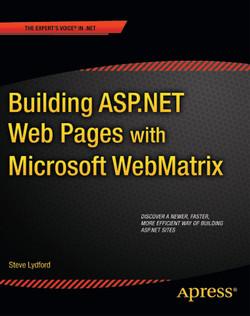 Building ASP.NET with Microsoft WebMatrix
