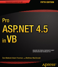 Pro ASP.NET 4.5 in VB, Fifth Edition