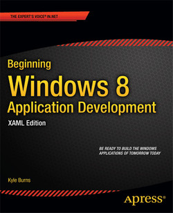 Beginning Windows 8 Application Development: XAML Edition