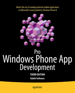 Pro Windows Phone App Development, Third Edition