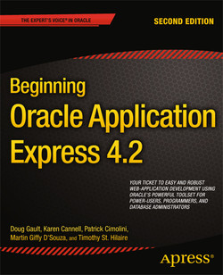 Beginning Oracle Application Express 4.2, Second Edition