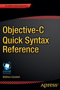 Objective-C Quick Syntax Reference