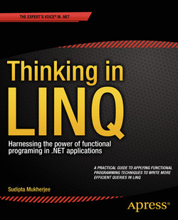 Thinking in LINQ: Harnessing the power of functional programing in .NET applications
