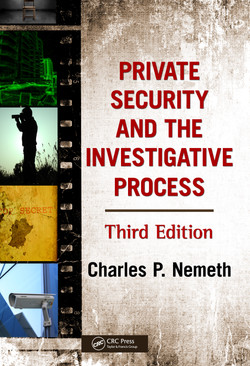 Private Security and the Investigative Process, 3rd Edition