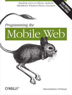 Programming the Mobile Web, 2nd Edition