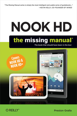 NOOK HD: The Missing Manual, 2nd Edition